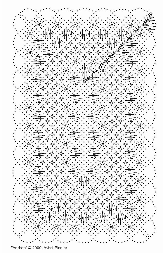 FREE BOOKMARK PATTERN - Mainly Lace - Lace Suppliers. Bobbin lace